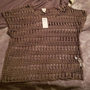 NWT Chico's Green Sweater